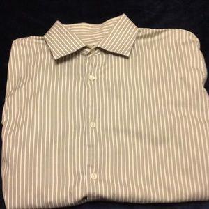 Banana Republic button down shirt Large 16-16 1/2